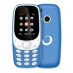 "Κινητό Τηλέφωνο BRIGMTON NTETMO0860 BTM-4-A Dual SIM Movil Senior 1,7"" Μπλε"