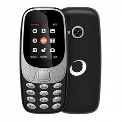 "Κινητό Τηλέφωνο BRIGMTON NTETMO0859 BTM-4-N Dual SIM Movil Senior 1,7"" Μαύρο"