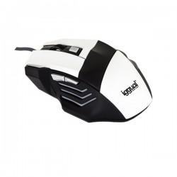 Οπτικό Ποντίκι iggual IGG315026 STORM 2400 dpi 7 D USB Λευκό