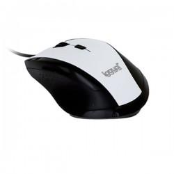 Οπτικό Ποντίκι iggual IGG315002 WORK-1 1600 dpi USB 6 D Λευκό