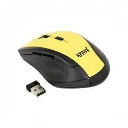 Οπτικό ασύρματο ποντίκι iggual IGG315194 1600 dpi 2,4 GHz Κίτρινο