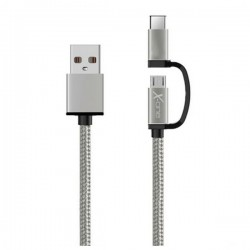 Καλώδιο USB σε Micro USB και USB C Ref. 101141