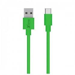 Καλώδιο USB 2.0 σε USB C Ref. 101196 Πράσινο