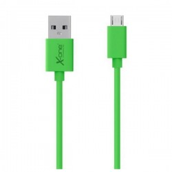 Micro USB Καλώδιο σε USB Ref. 101295 Πράσινο