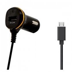 Φορτιστής Αυτοκινήτου Ref. 138208 USB Micro USB Μαύρο