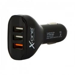 Φορτιστής Αυτοκινήτου Ref. 138260 3 x USB-A Μαύρο