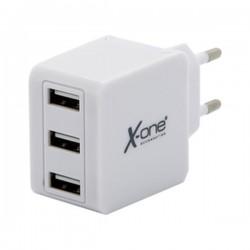 Φορτιστής Τοίχου Ref. 138444 3 x USB-A Λευκό