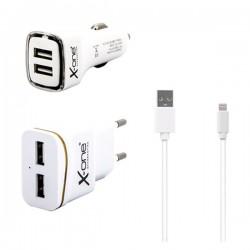 Φορτιστής Ref. 137713 USB MFI Λευκό