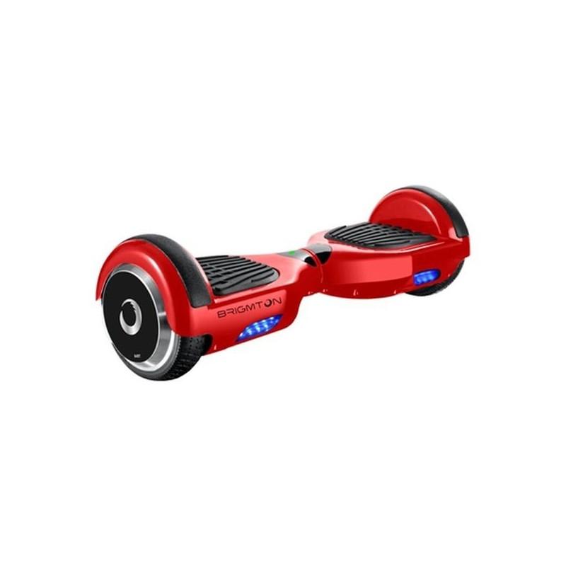 """Ηλεκτρικό Σκούτερ Hoverboard BRIGMTON BBOARD-64BT-R 6,5"""" 4400 mAh Bluetooth 700 W Κόκκινο"""