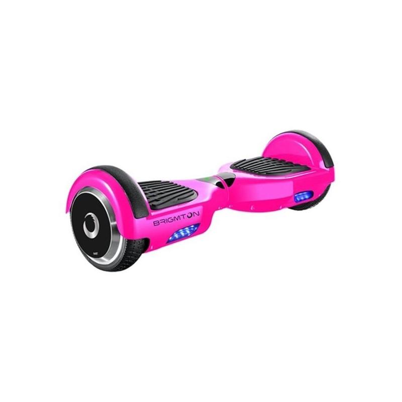 """Ηλεκτρικό Σκούτερ Hoverboard BRIGMTON BBOARD-64BT-P 6,5"""" 4400 mAh Bluetooth 700 W Ροζ"""