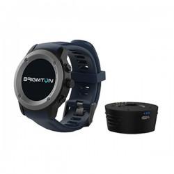 "Smartwatch BRIGMTON BWATCH-100GPS-A 1,3"" LCD Bluetooth Μπλε"