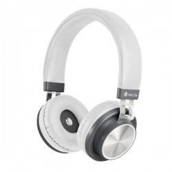 Bluetooth Ακουστικά με Μικρόφωνο NGS ARTICAPATROLWHITE Λευκό