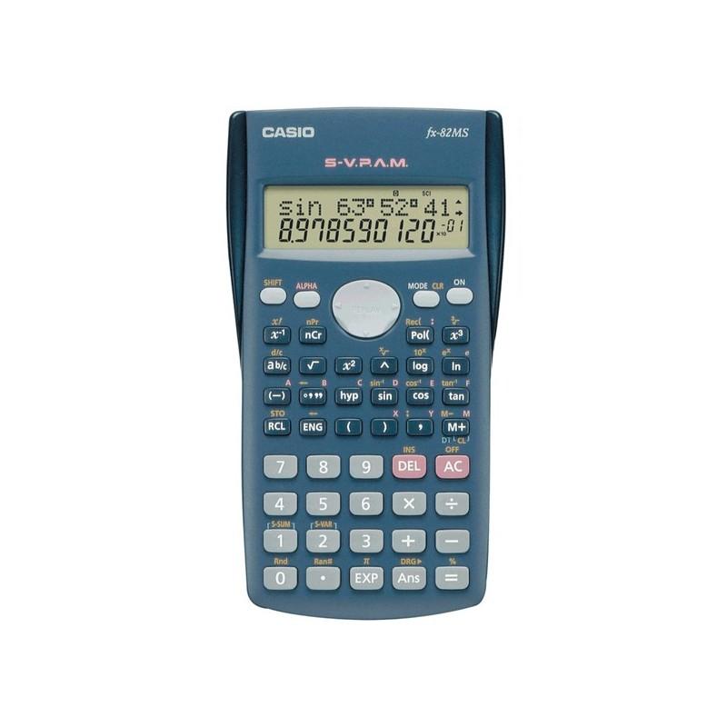 Αριθμομηχανή Casio FX-82MS Μαύρο