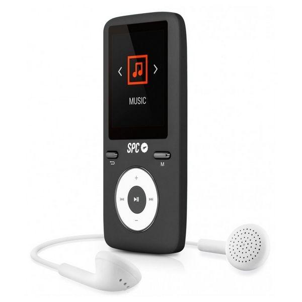 MP4 Player SPC Pure Sound Colour 2 8 GB Μαύρο