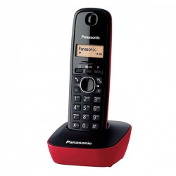Ασύρματο Τηλέφωνο Panasonic KX-TG1611SPR Κόκκινο