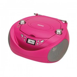 CD Ραδιόφωνο Daewoo DBF106 Ροζ