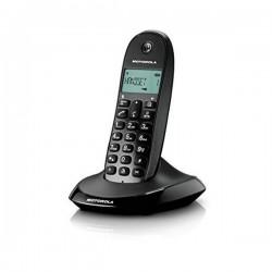 Ασύρματο Τηλέφωνο Motorola C1001 Μαύρο