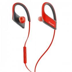 Αθλητικό Bluetooth Ακουστικό με Μικρόφωνο Panasonic RP-BTS30E Κόκκινο