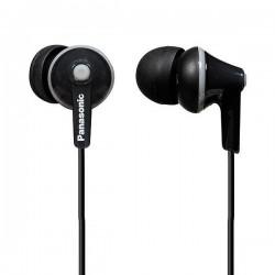 Ακουστικά Panasonic RP-HJE125E in-ear Μαύρο