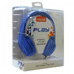 Ακουστικά Maxell Play MXH-HP500 Μπλε Στέκα