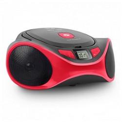 Ραδιόφωνο CD MP3 SPC 4501R CLAM BOOMBOX USB Κόκκινο