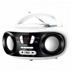 CD Ραδιόφωνο Bluetooth MP3 BRIGMTON W-501 USB Λευκό