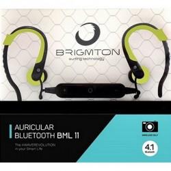 Bluetooth Ακουστικά με Μικρόφωνο BRIGMTON BML-11-V Πράσινο
