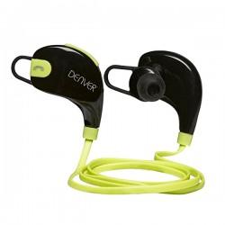 Σπορ Ακουστικά Bluetooth Denver Electronics BTE-100GREEN Μαύρο Πράσινο