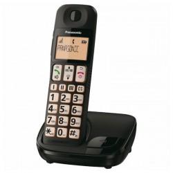 Ασύρματο Τηλέφωνο Panasonic KX-TGE310SPB Μαύρο