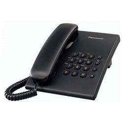 Σταθερό Τηλέφωνο Panasonic KX-TS500EXB Μαύρο