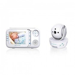 """Οθόνη Ελέγχου Μωρού Alcatel Baby Link 710 2,8"""" LCD PURESOUND Λευκό"""