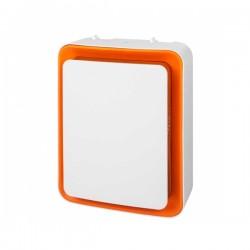 Κάθετη Θερμάστρα S&P TL32 1800W Λευκό Πορτοκαλί