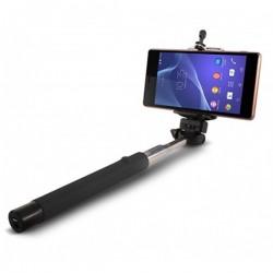 Επεκτάσιμο Κοντάρι Selfie Bluetooth KSIX 45 mAh 5 V Μαύρο