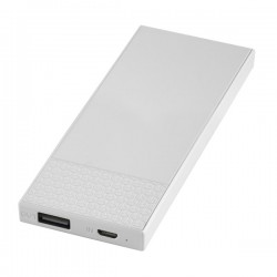 Power Bank KSIX 3000 mAh 5 V 1 A Λευκό