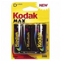 Αλκαλική Μπαταρία Kodak LR20 1,5 V (2 pcs)