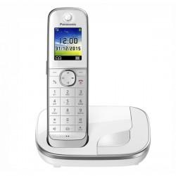 """Ασύρματο Τηλέφωνο Panasonic KX-TGJ310SPW DECT 1,8"""" TFT GAP Λευκό"""