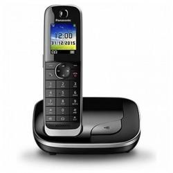 """Ασύρματο Τηλέφωνο Panasonic KX-TGJ310SPB DECT 1,8"""" TFT GAP Μαύρο"""