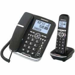 Ασύρματο Τηλέφωνο Daewoo DTD5500 DECT LCD LED COMBO