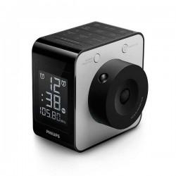 Ρολόι-ραδιόφωνο Philips AJ4800/12 LCD FM Digital Μαύρο