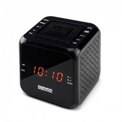 Ρολόι-Ραδιόφωνο Daewoo DCR-450 Μαύρο