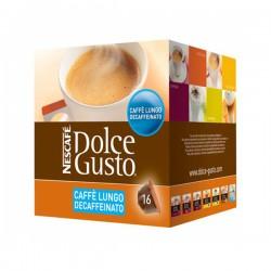 Κάψουλες Καφέ με Θήκη Nescafé Dolce Gusto 94331 Caffè Lungo Decaffeinato (16 uds)
