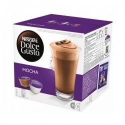 Κάψουλες Καφέ με Θήκη Nescafé Dolce Gusto 49523 Mocha (16 uds)