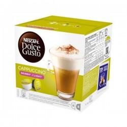Κάψουλες Καφέ με Θήκη Nescafé Dolce Gusto 87377 Cappuccino Light (16 uds)