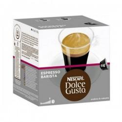 Κάψουλες Καφέ με Θήκη Nescafé Dolce Gusto 91414 Espresso Barista (16 uds)
