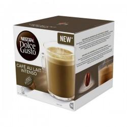 Κάψουλες Καφέ με Θήκη Nescafé Dolce Gusto 45831 Café Au Lait Intenso (16 uds)