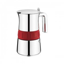 Ιταλικη καφετιερα BRA A170566 (4 kopper) Ανοξείδωτο ατσάλι