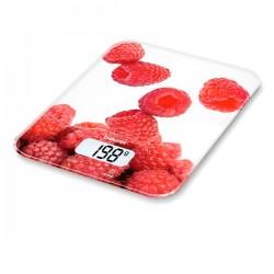 Ζυγαριά Κουζίνας Beurer KS 19 berry 5 Kg Λευκό Κόκκινο