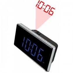 """Ρολόι-Ραδιόφωνο Denver Electronics CRP-515 1,8"""" LED FM Μαύρο"""