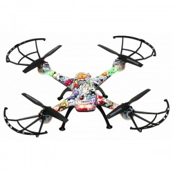 Drone Denver Electronics DCH-460 0,3 MP 2.4 GHz 650 mAh Πολύχρωμο