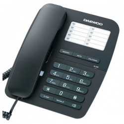 Ασύρματο Τηλέφωνο Daewoo DTC-240 Μαύρο
